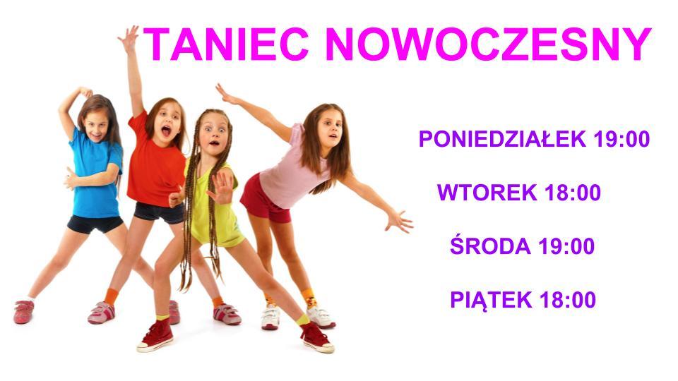 TANIEC NOWOCZESNY KIDS